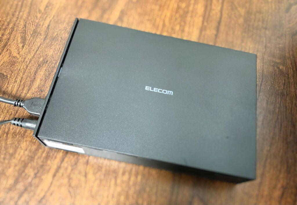 ELECOM外付けハードディスクドライブ